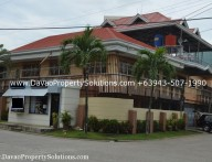 House and Lot with Commercial Office in Downtown of Davao City