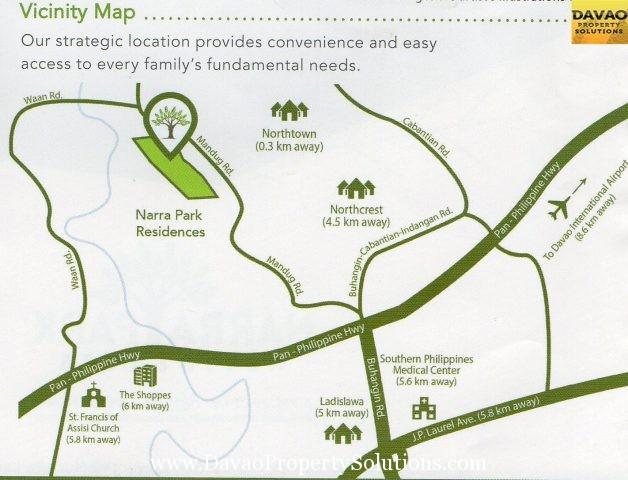 Narra Park | Vicinity Map