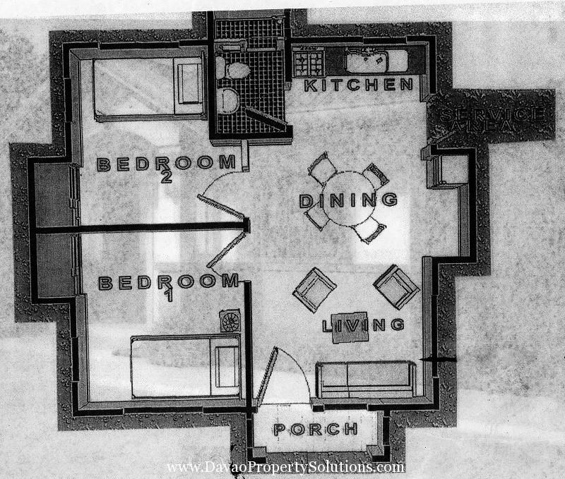 ANGELICA HOUSE MODEL | SAMPLE FLOOR PLAN