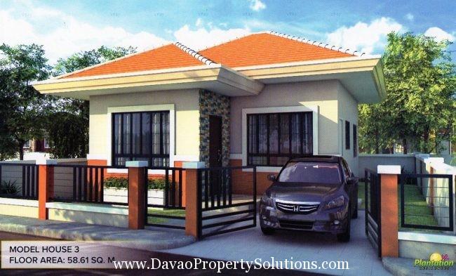 MODEL HOUSE 3 | PLANTATION RESIDENCES , MAKILALA NORTH COTABATO
