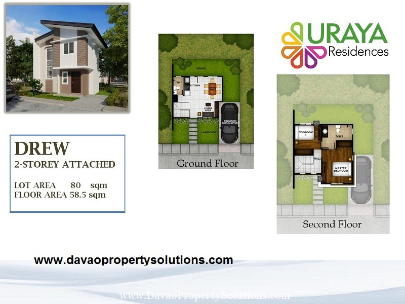 DREW HOUSE MODEL | FLOOR PLAN