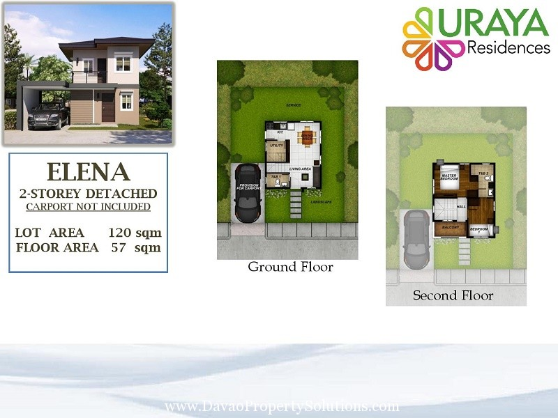 ELENA HOUSE MODEL | URAYA RESIDENCES, CATALUNAN GRANDE, DAVAO CITY