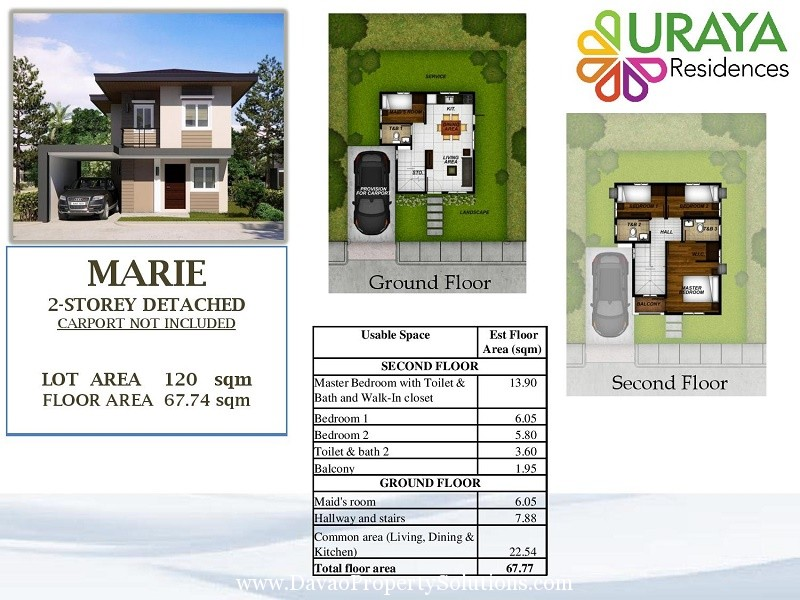 MARIA HOUSE MODEL | FLOOR PLAN