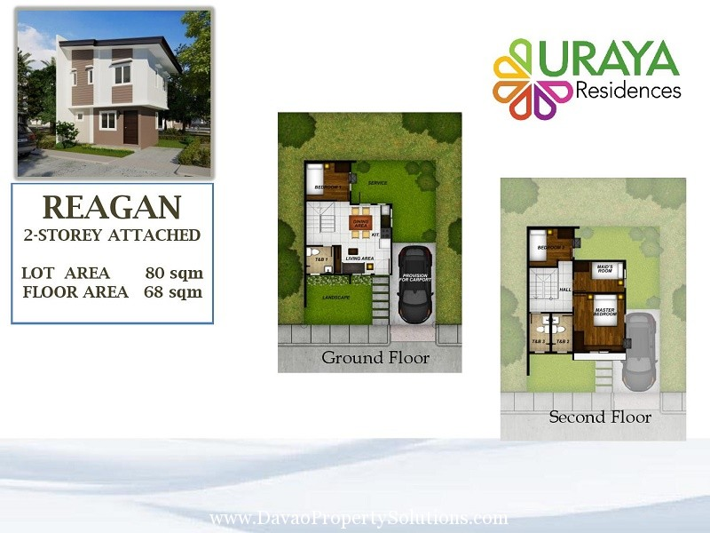 REAGAN HOUSE MODEL | FLOOR PLAN