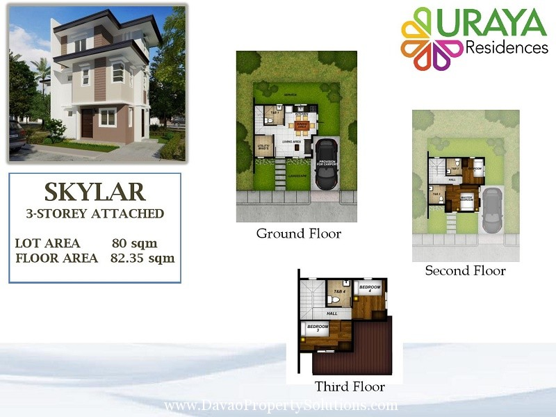 SKYLAR HOUSE MODEL | FLOOR PLAN