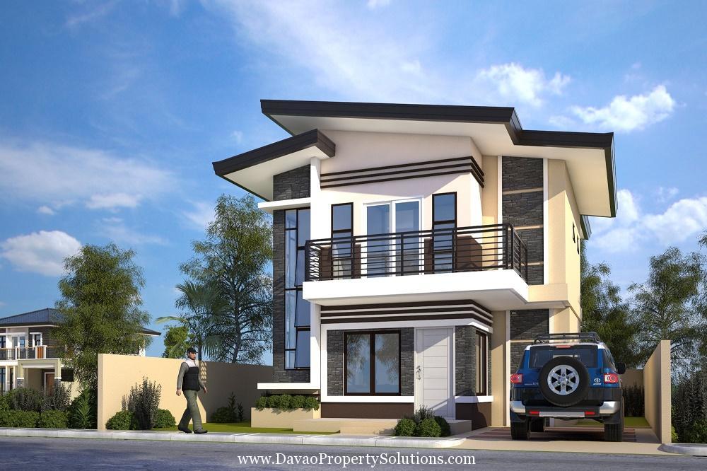 HOUSE MODELS And SAMPLE COMPUTATIONS 2 STOREY UNITS: